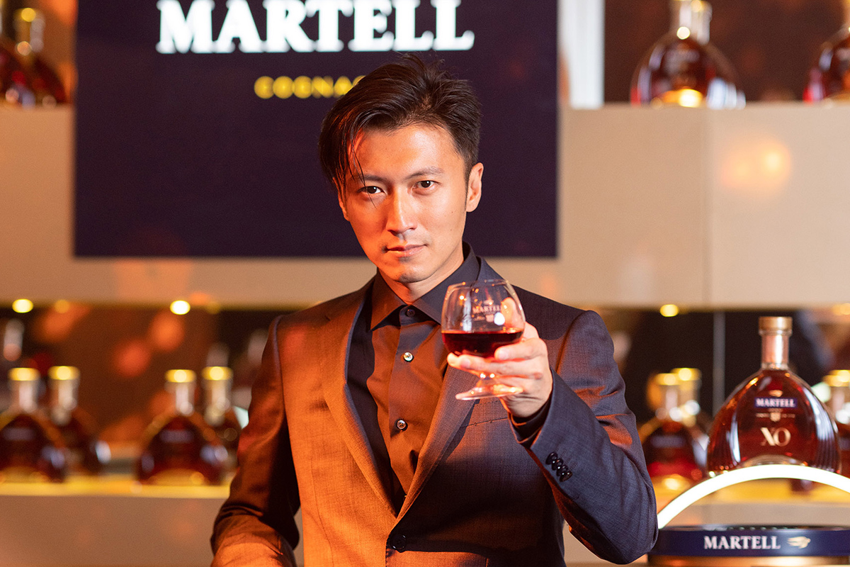 APAC-NEWS-Martell-XO-launch-in-China-Nicholas-Tse-Brand-Ambassador at Shanghai event