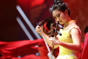 APAC News Erhu Player in China Wuxi