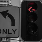 APAC News stop lights and traffic sign in Sydney CBD