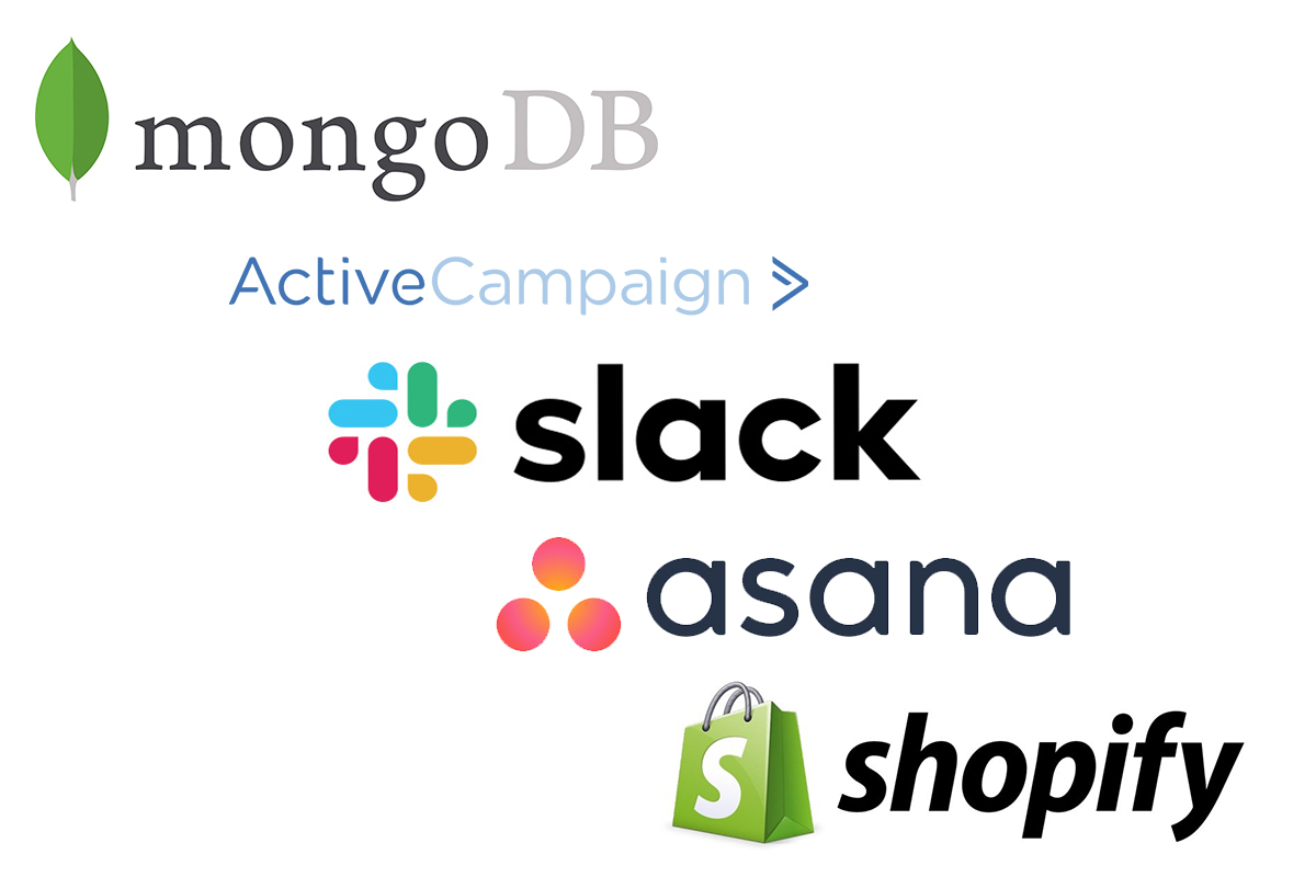 Best Software Companies in Asia Pacific with the top five, mongoDB, Active Campaign, Slack, Asana and Shopify