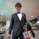 China Gen Z young man in Guangzhou