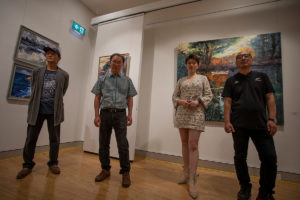 Simon Hua, Lisa Liang, Sam Lai and Hua Ye, have collaborated to show their works together for the first time at Sydney's 541 Art Space
