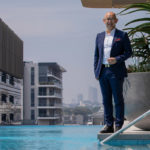 APAC News Crown Group CEO Iwan Sunito at Waterfall by Crown poolside