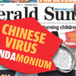 APAC News Herald Sun Chinese Virus Pandamonium headline slammed on social media